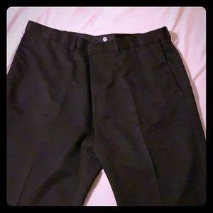 Haggar Clothing Black slacks Classic Fit